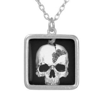 Skull and soul pendant
