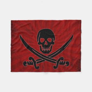 Skull and Swords Small Fleece Blanket