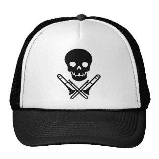 skull and trombones cap