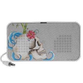 Skull and Waves Mini Speakers