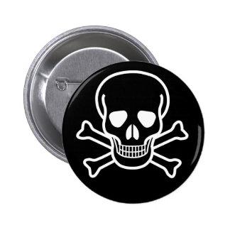 Skull and X Pin