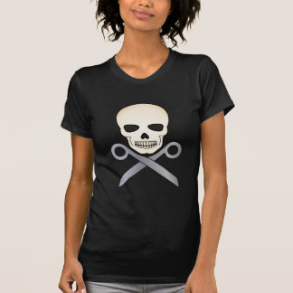 Skull and X-Scissors T-Shirt