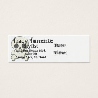 skull and xbones, Tracy T, sty... Mini Business Card