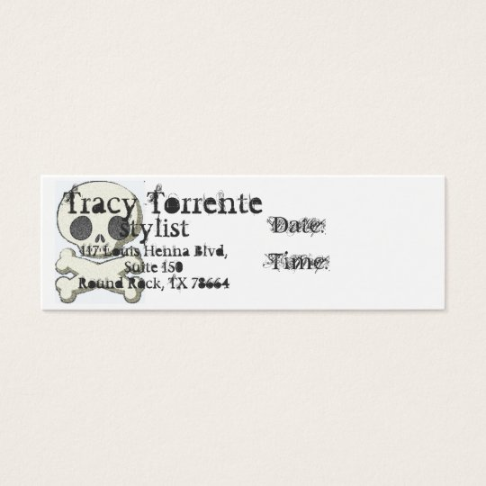 skull and xbones, Tracy T, sty Mini Business