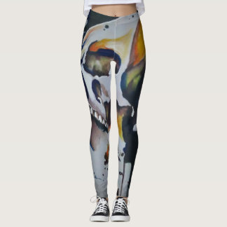 Skull Art leggings