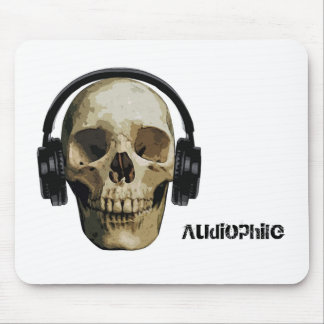 Skull Audiophile Mouse Mat