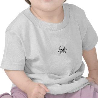 skull baby tee shirts