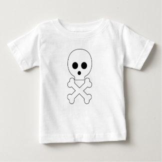 skull babywear t-shirt