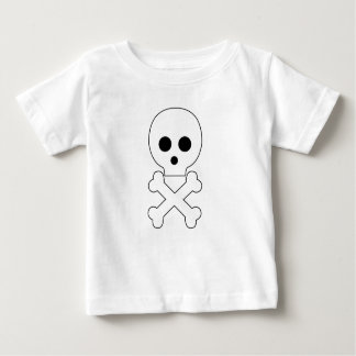 skull babywear tshirts