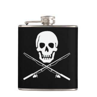 Skull & Backbones Flask