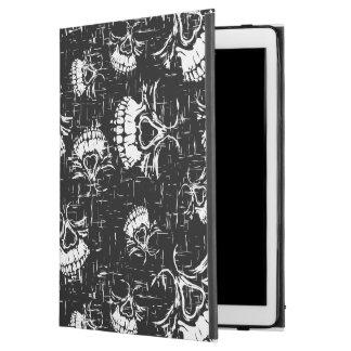 """skull background iPad pro 12.9"""" case"""