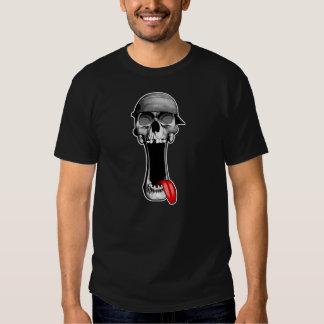 Skull Backwards Hat Tshirts