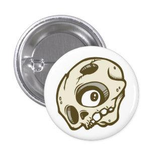 Skull 3 Cm Round Badge
