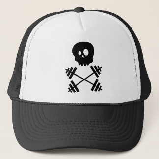 Skull & Barbells Trucker Hat