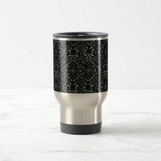 Skull Black Bandana Stainless Steel Travel Mug