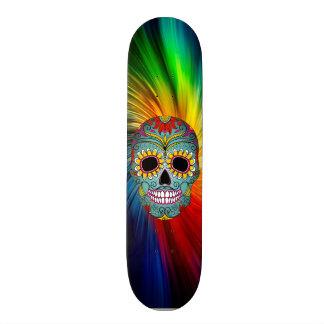 Skull board 20.6 cm skateboard deck