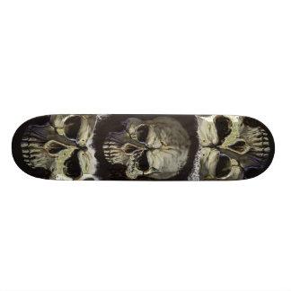 Skull board design skate board deck