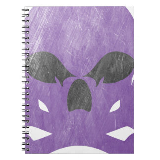 Skull bone notebook
