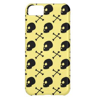 Skull & Bones - Light Pastel Yellow iPhone 5C Case