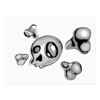 Skull & Bones Post Card