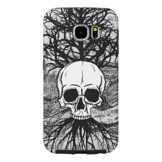 {{{ Skull & Books }}} Samsung Galaxy S6 Cases