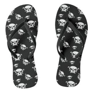 Skull Boys Flip Flops