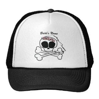 Skull Bride Cap