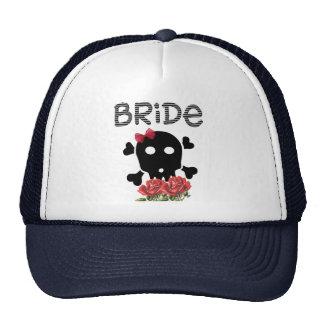 Skull Bride Mesh Hat