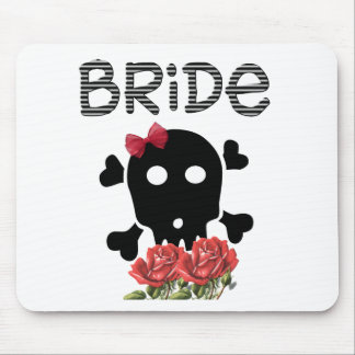 Skull Bride Mouse Mat