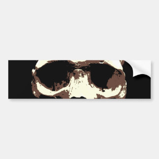Skull Bumper Sticker