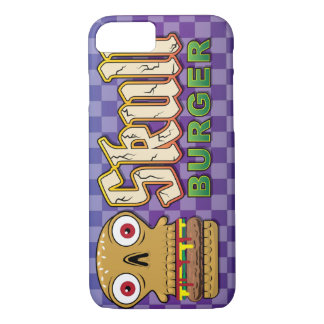 Skull Burger iPhone 7 Case