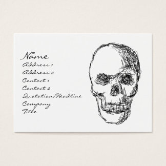 Skull. Business Card