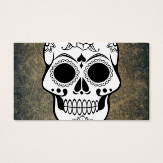 Skull Business Card
