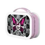 Skull Butterfly Lunch Box