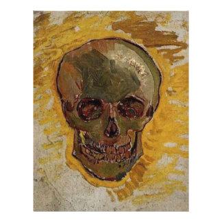 Skull by Vincent van Gogh Custom Flyer