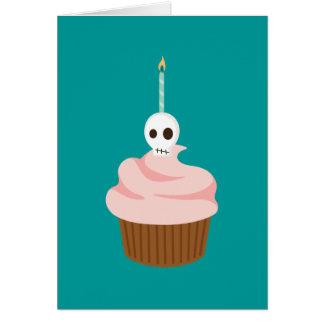 Skull Cake Card