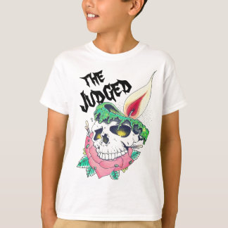 skull candle unisex kids t-shirt
