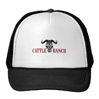 SKULL CATTLE RANCH HAT