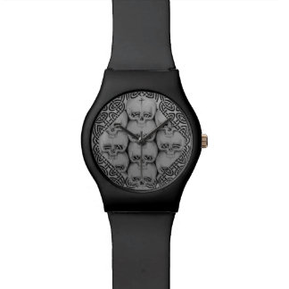 skull celtic watch original unique