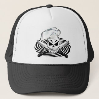 Skull Chef hat