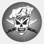 Skull Chef Sticker