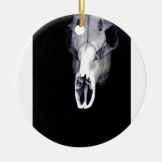 skull christmas ornament
