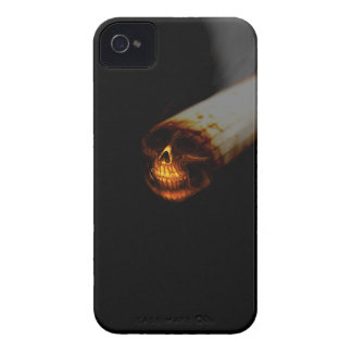 Skull cigarette iPhone 4 cover