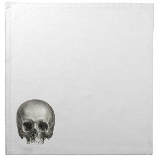 Skull Cloth Napkin