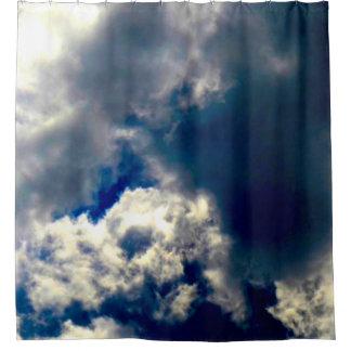Skull Cloud Shower Curtain