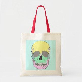 SKULL (COLORFUL POP ART STYLE) Tote Bag