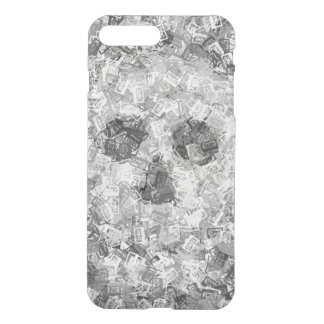 SKULL compact cassette camouflage iPhone 7 Plus Case