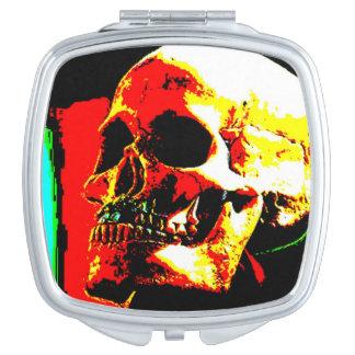 Skull Compact Travel Mirror