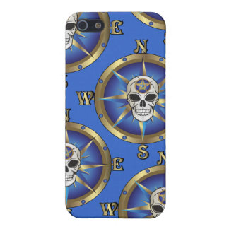 Skull Compass Cases For iPhone 5