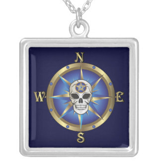 Skull Compass Pendant